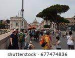 vatican city  italy   june 10th ... | Shutterstock . vector #677474836