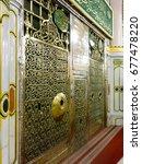 medina  saudi arabia   march 11 ... | Shutterstock . vector #677478220