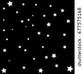 star falling confetti print....   Shutterstock .eps vector #677575168