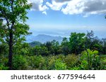 Beautiful View From Mountain...