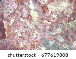 pink marbled pattern. abstract... | Shutterstock .eps vector #677619808