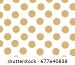 Brown Seamless Polka Dots...