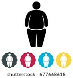 obesity   bariatric surgery...   Shutterstock .eps vector #677668618