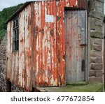 Rusty Old Tin Fisherman's Hut...