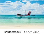 south atoll  dhidhoofinolhu ... | Shutterstock . vector #677742514