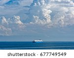 liquefied natural gas  lng ... | Shutterstock . vector #677749549