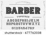 font. alphabet. script....   Shutterstock .eps vector #677762038