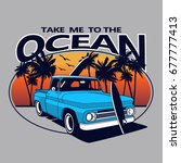 Take Me To The Ocean Vector T...