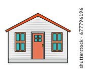 house icon image | Shutterstock .eps vector #677796196