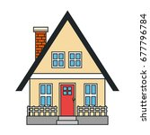 house icon image | Shutterstock .eps vector #677796784