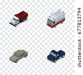 isometric transport set of auto ...