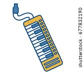 musical instruments design  | Shutterstock .eps vector #677832190