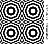seamless pattern with black... | Shutterstock .eps vector #677842576