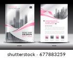 annual report brochure flyer... | Shutterstock .eps vector #677883259