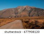 gravel road | Shutterstock . vector #677908120