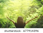 freedom feel good and travel...   Shutterstock . vector #677914396