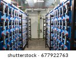 battery room | Shutterstock . vector #677922763
