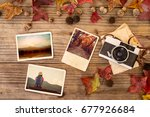 photo album in remembrance and... | Shutterstock . vector #677926684