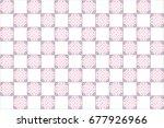 colorful kaleidoscopic tiles... | Shutterstock . vector #677926966