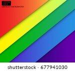 colorful wallpaper banner... | Shutterstock .eps vector #677941030