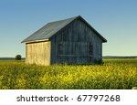 A Finnish Old Barn  Country Barn