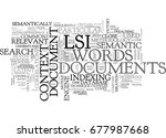 what is lsi text word cloud... | Shutterstock .eps vector #677987668