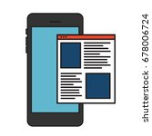 abstract flat illustration of...