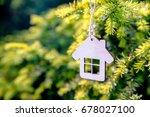 the symbol of the house is... | Shutterstock . vector #678027100