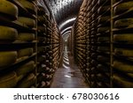Cheese Refining Cellar In The...