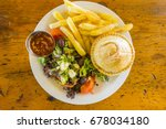 south african mince meat pie ... | Shutterstock . vector #678034180