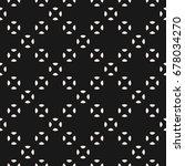 raster seamless pattern  black  ... | Shutterstock . vector #678034270