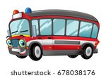 cartoon happy and funny cartoon ... | Shutterstock . vector #678038176