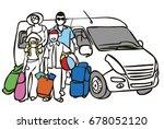 travel | Shutterstock . vector #678052120