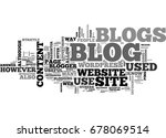 what is a blog and what are... | Shutterstock .eps vector #678069514