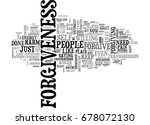 what forgiveness is not text... | Shutterstock .eps vector #678072130