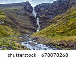 View Of Beautiful Waterfall...