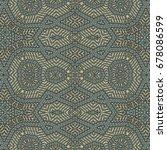 oriental seamless wallpaper... | Shutterstock . vector #678086599