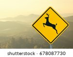 Yellow Traffic Sign
