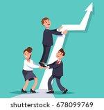 vector flat illustration... | Shutterstock .eps vector #678099769