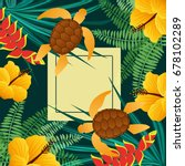 Tropical Background Graphic...