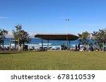 bondi beach in sydney australia ... | Shutterstock . vector #678110539