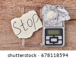 illegal drugs business of... | Shutterstock . vector #678118594