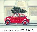 3d rendering. woman driving... | Shutterstock . vector #678123418