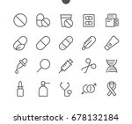 medical ui pixel perfect well... | Shutterstock .eps vector #678132184