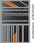 active energy geometric | Shutterstock .eps vector #678139183