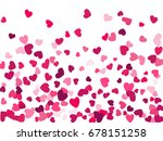 colorful background with heart... | Shutterstock .eps vector #678151258
