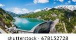 Fantastic Scene On Kurobe Dam....