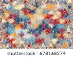 abstract background of... | Shutterstock .eps vector #678168274