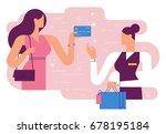 shopping   | Shutterstock .eps vector #678195184