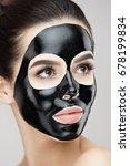 cosmetology mask. portrait of... | Shutterstock . vector #678199834